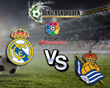 Prediksi bola Real Madrid vs Real Sociedad 02 Maret 2021
