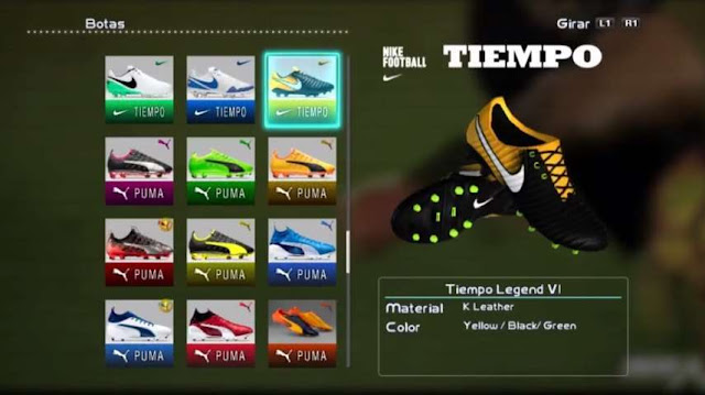 Nike Tiempo Legend VII Boots PES 2013