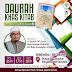 Design Poster Daurah Kitab Dari Jendela Al Habib Al Mustafa SAW