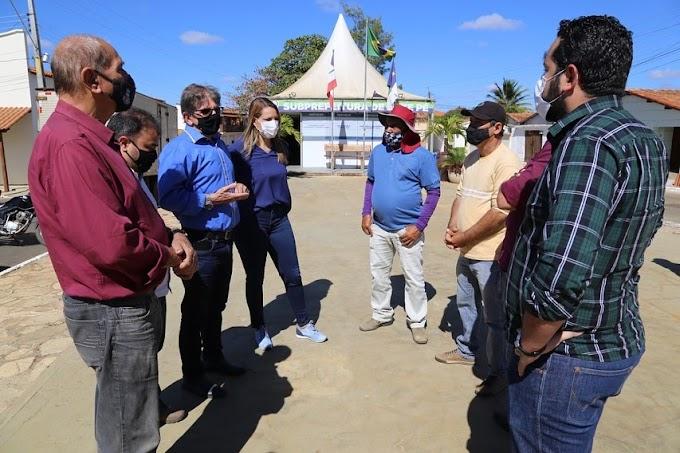 Vit. da Conquista: Ação da Prefeitura assegura chegada de água encanada na comunidade da Estrada do Mota, em Bate-Pé.