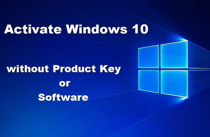 How to activate windows 10 without software product key for free i will show you how to activate all version of windows 10 without software easily and completely free ccuart Images