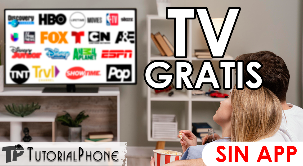 televisión gratis sin pagar suscripciones