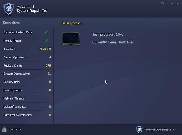 Advanced System Repair Pro imagenes