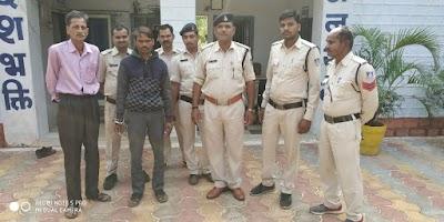 सफलता : रिपोर्ट के 24 घंटे के अंदर ही दुष्कर्म के आरोपी को गिरफ्तार कर भेजा जेल | Sirsod News