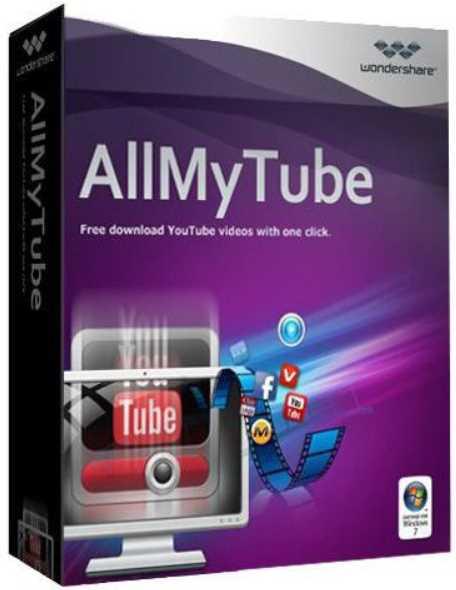Wondershare AllMyTube 7.4.8.0 poster box cover