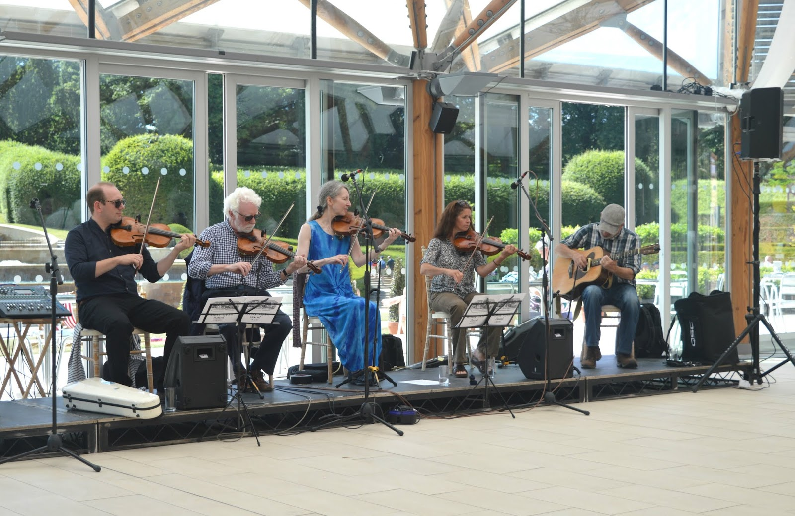 Music and Dances of Northumberland at Alnwick Garden