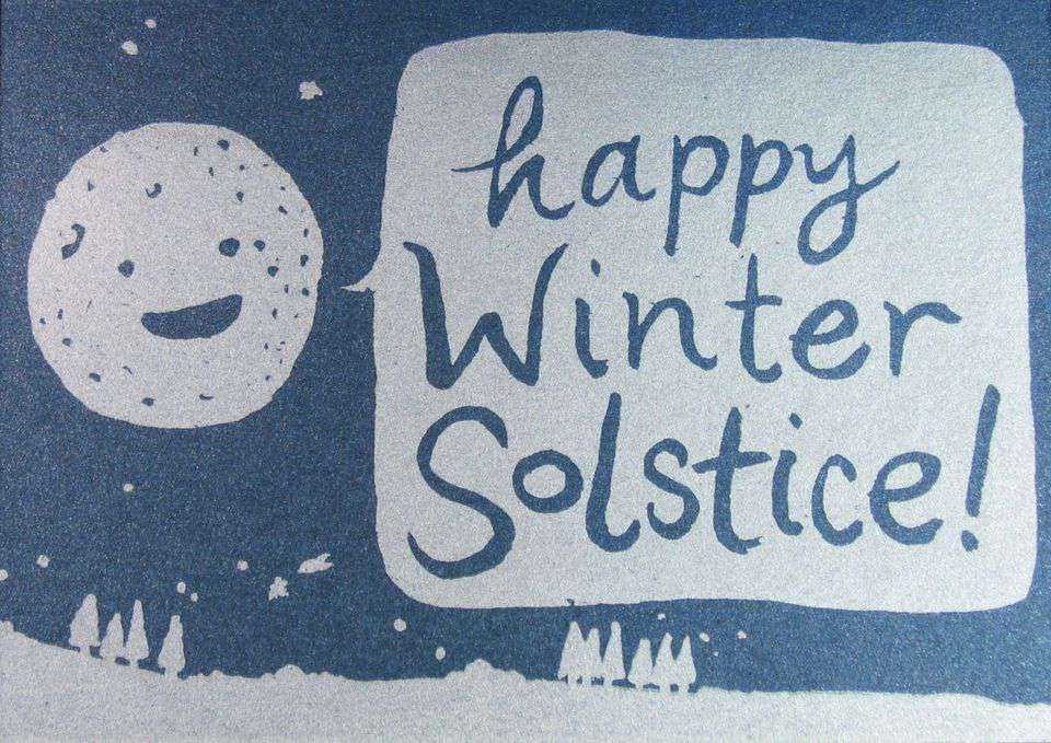 Winter Solstice Wishes Images download