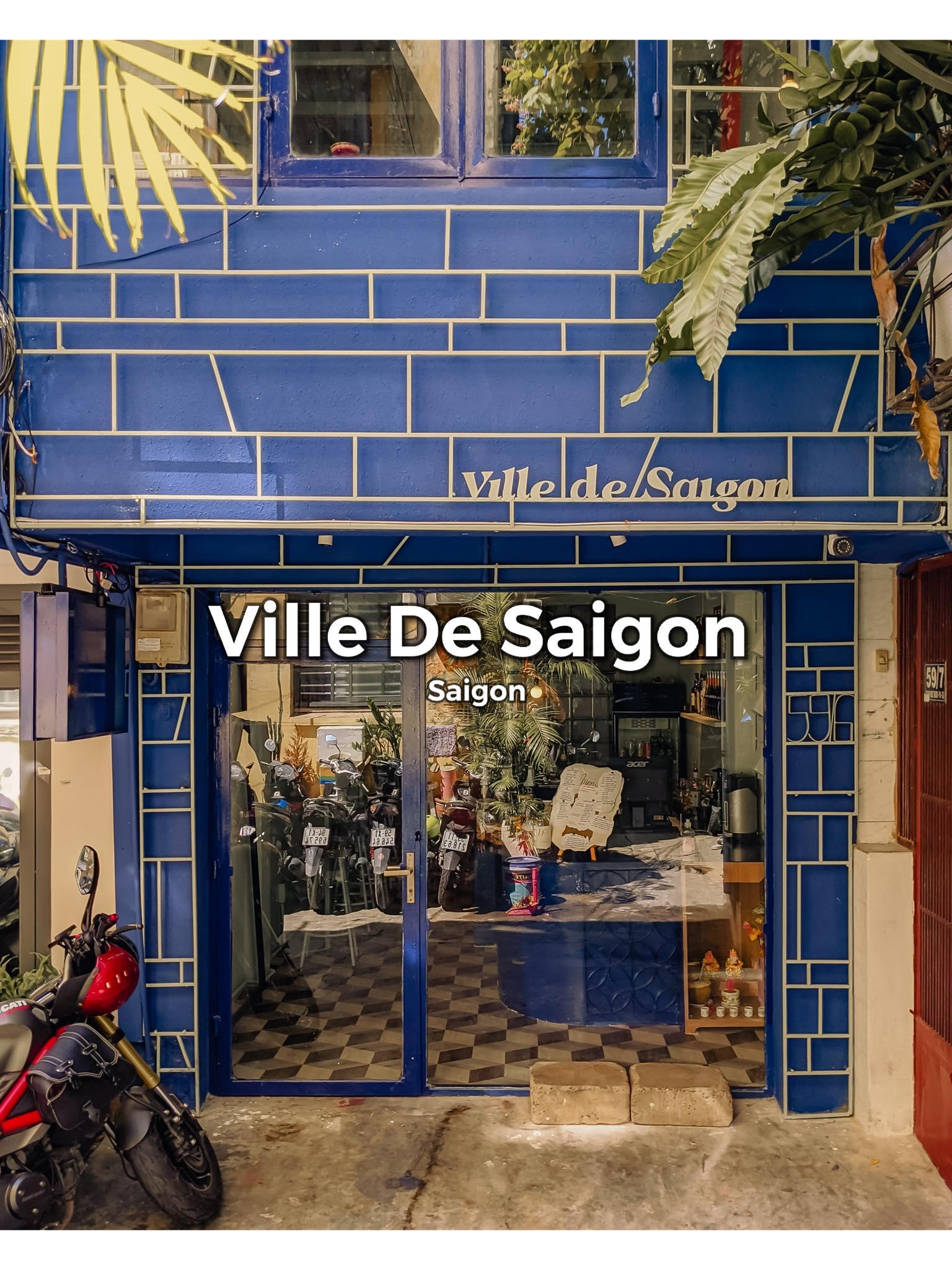 Ville De Saigon Cafe - Quán cafe quận 3