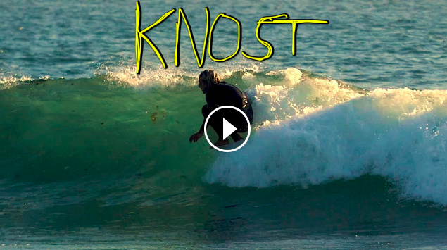 Alex Knost Turns and Tubes On A Bonzer and A Longboard