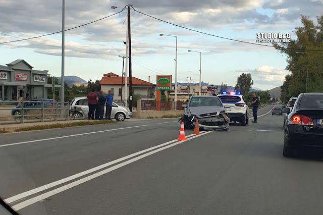 Τροχαίο με μηχανάκι στο Άργος - Τραυματίας ο οδηγός