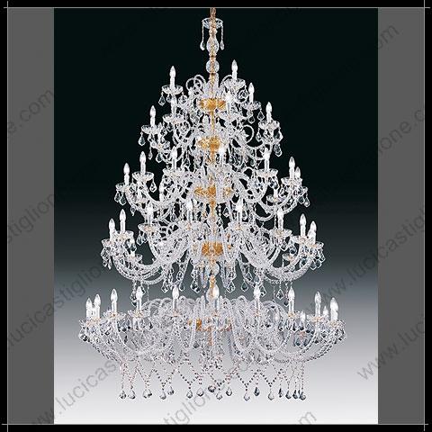 Lampadari Per Grandi Saloni.Fabbrica Lampadari Murano Lampadari Di Grandi Dimensioni