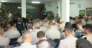 9º Batalhão realiza formatura e entrega comenda a autoridades