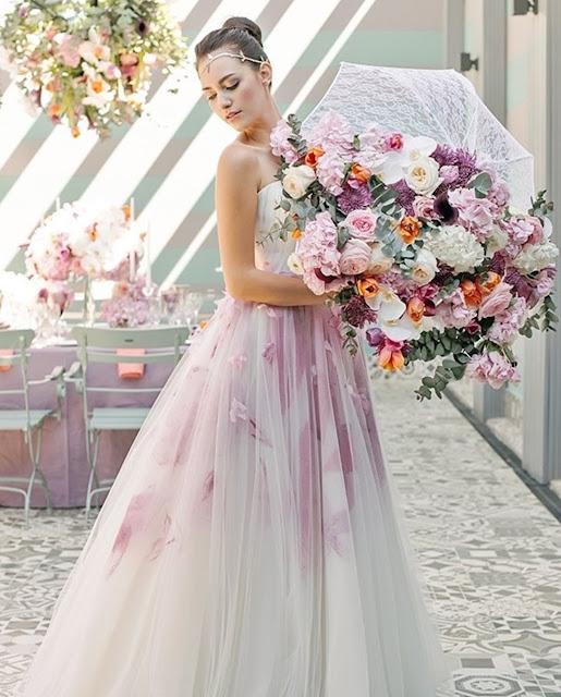 Ramos de novia tamaño XXL - Fuente: Pinterest
