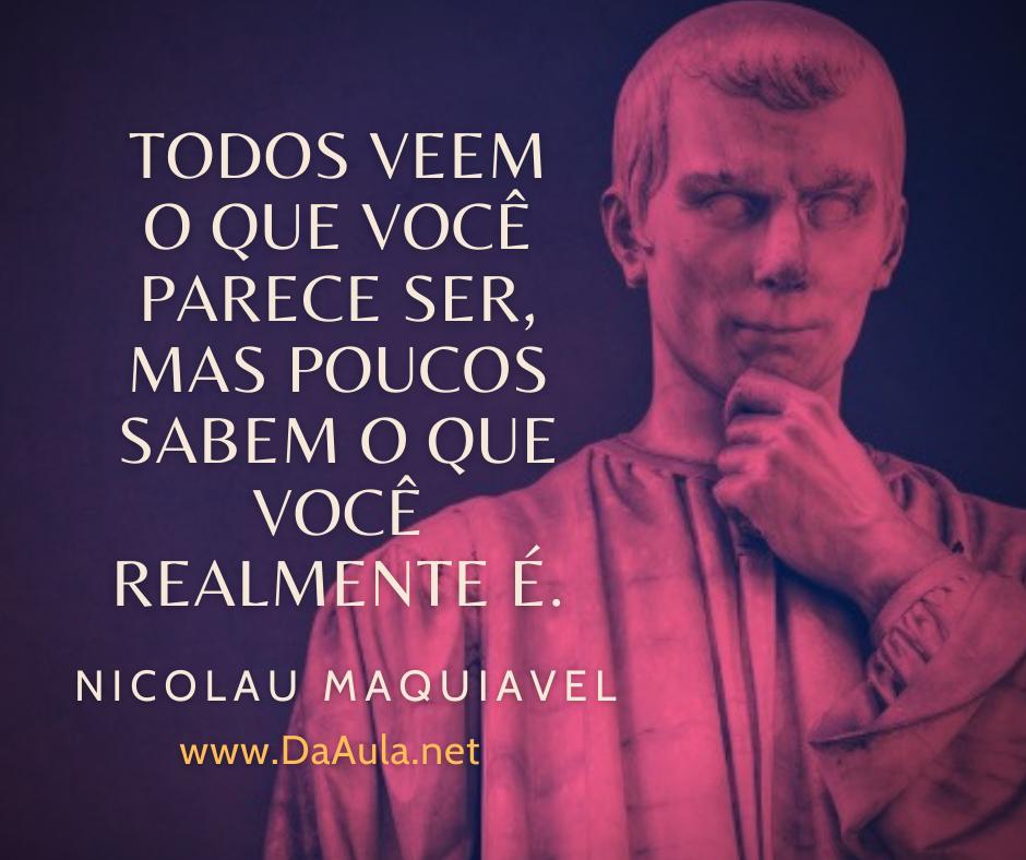 Quem foi Nicolau Maquiavel