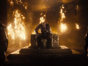 Darkseid en su trono