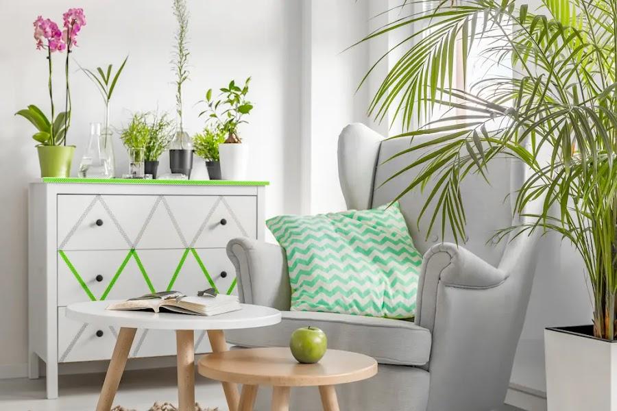 Cómoda Hemnes de IKEA decorada con washi-tape
