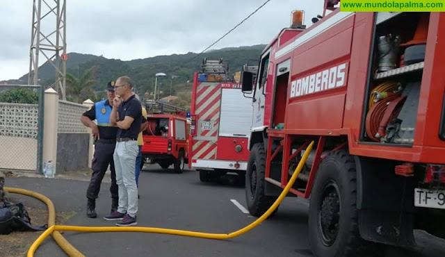 Incendio ayer en un cuarto de aperos en Villa de Mazo