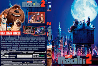 LA VIDA SERCRETA DE TUS MASCOTAS 2-THE SECRET LIFE OF PETS 2 2019 [COVER DVD+BLU-RAY]