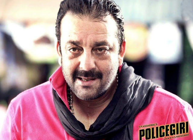 Sanjay Dutt in Policegiri (2013)