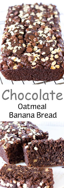 Chocolate Oatmeal Banana Bread Recipe