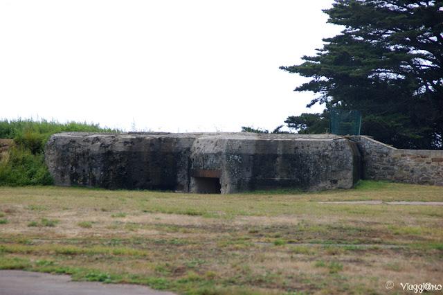 Bunker del Memoriale 39/45 della Cité d'Aleth vicino Saint Malo