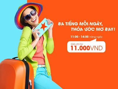 Vé máy bay Jetstar giá rẻ 99000 đồng