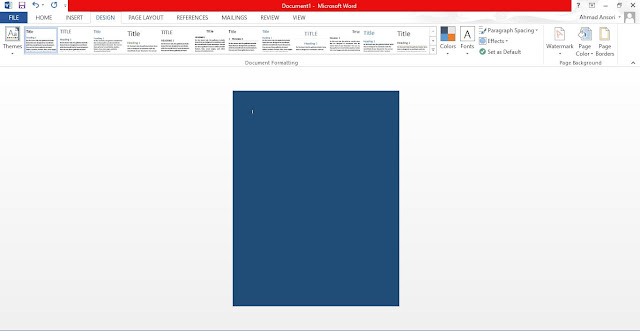 Cara Membuat Background di Microsoft Word : Tulisan dan Gambar Transparan