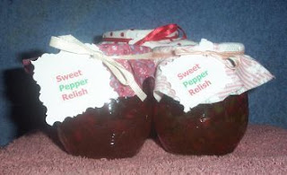 sweet pepper relish, Easy recipe, canning recipes, relish recipe, how to can relish
