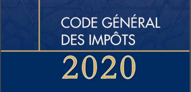 Télécharger le code général des impôts 2020 Maroc PDF