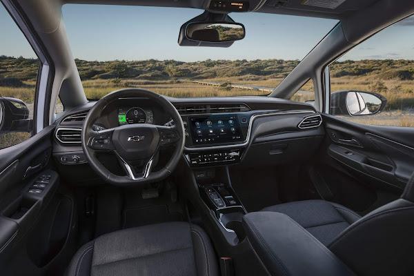 Novo Chevrolet Bolt 2022 - interior