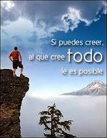 Sermones. Para el que cree todo le es posible.
