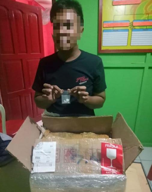 Satuan Reserse Narkoba Polres Biak Amankan Seorang Pria Terkait Sabu