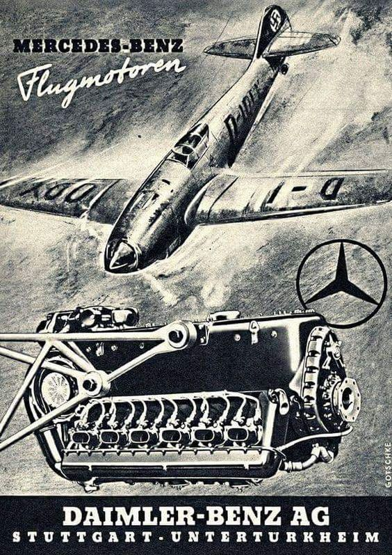 Daimler-Benz Fascist airplane ads worldwartwo.filminspector.com