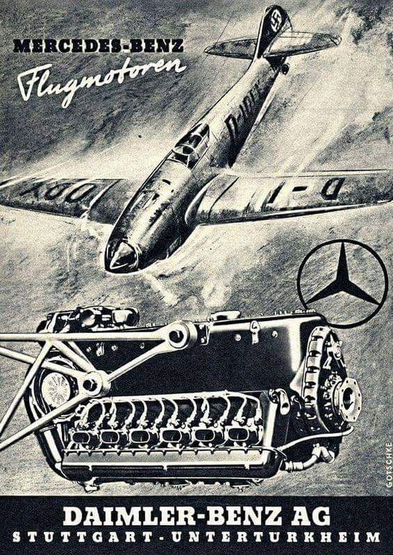 Daimler-Benz Fascist airplane ads worldwartwo.filminspector.com