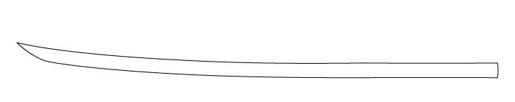 Gambar Garis Katana