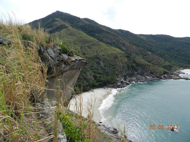 Vista da Pedra da Tartaruga - Guaratiba - RJ