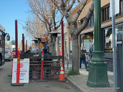 parklet at Shen Hua in Berkeley, California