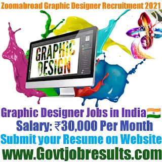 Zoomabroad Online Graphic Designer Recruitment 2021-22