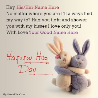 hug day hindi sms