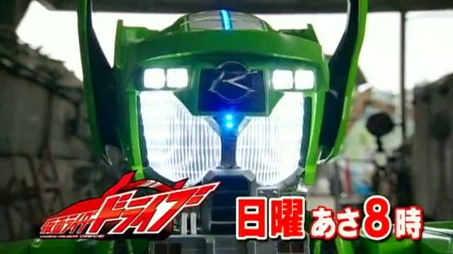 Kamen Rider Drive Type Technique Debuts on Episode 09