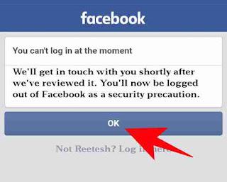 Block facebook account unblock kaise kare 3
