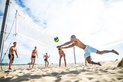 Volleying for fun and fitness