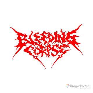 Bleeding Corpse Logo vector (.cdr)