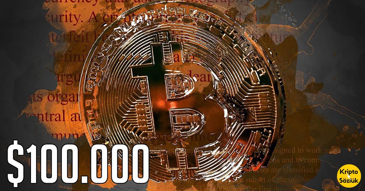 Bitcoin 100.000 dolar mı olacak?