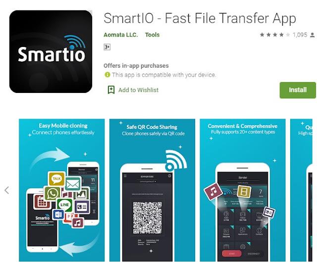 SmartI0 - Fast File Transfer App