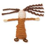 Away in a Manger: Biblical Hairdos - Step 1