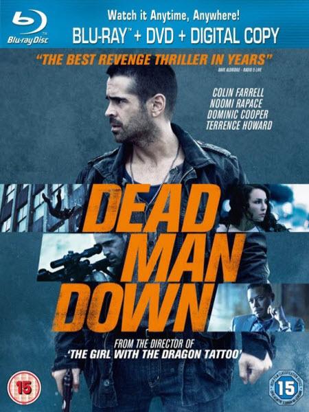 Dead Man Down 2013 BRRip 480p 300mb ESub