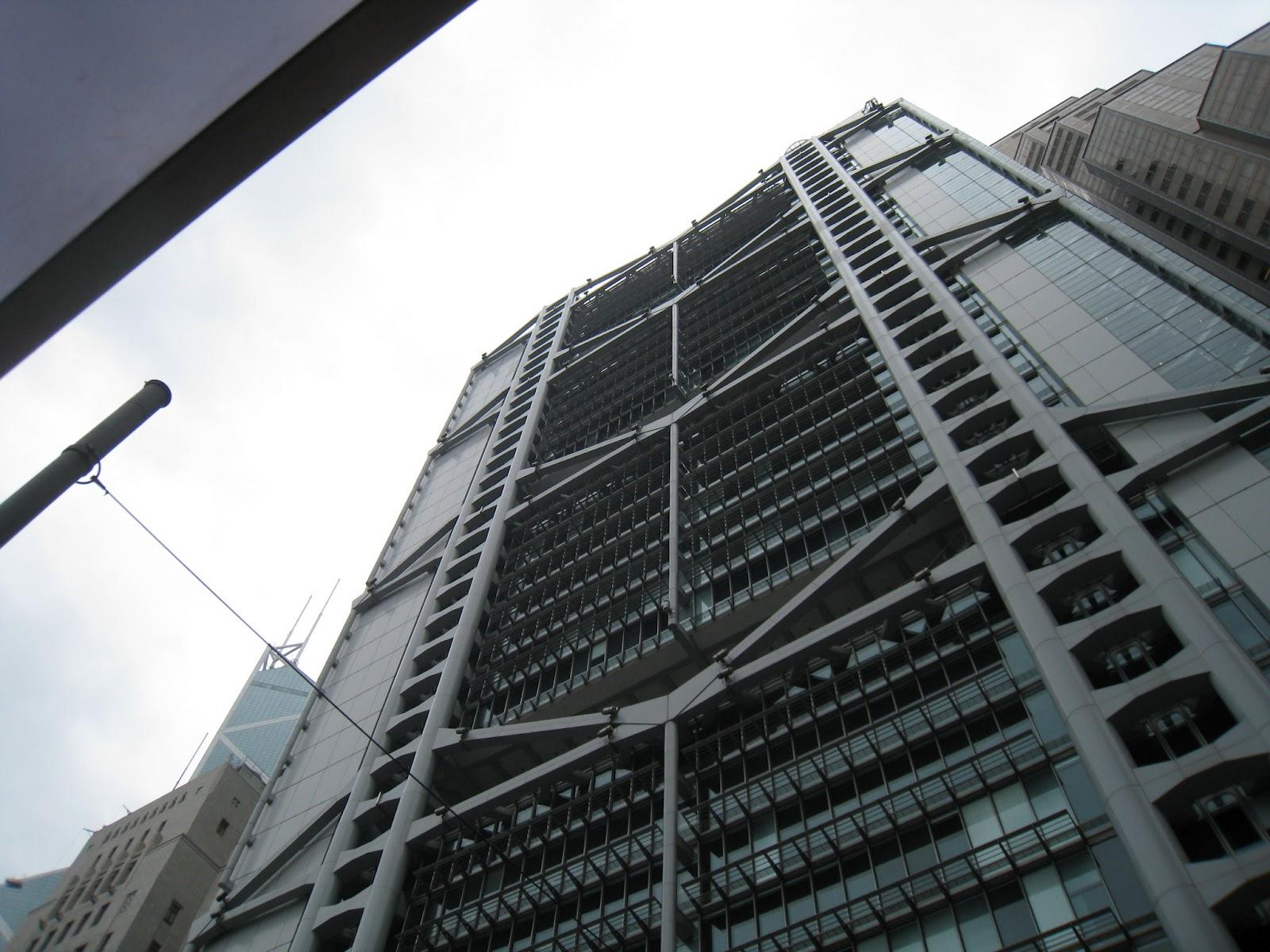 港澳吃飯團-香港-匯豐銀行大樓