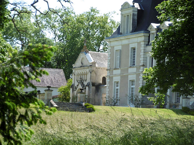 Chateau des Michaux, Indre. France. Photographed by Susan Walter. Tour the Loire Valley with a classic car and a private guide.