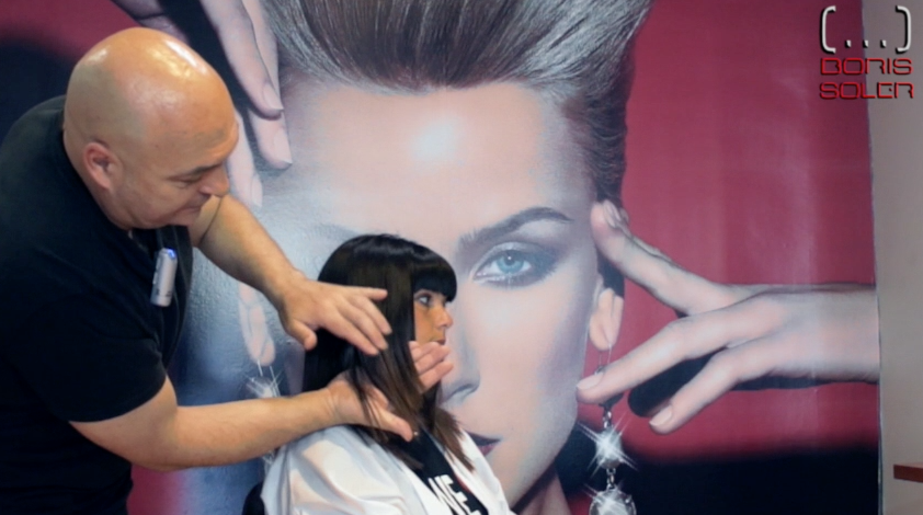 Como desfilar el cabello en la parte frontal